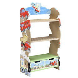 Ride Around Bookshelf