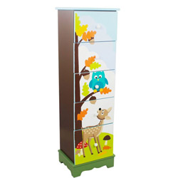 Enchanted Woodland 5 Drawer Cabinet
