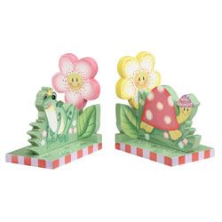 Magic Garden Bookends