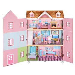 Paris Mansion Dollhouse