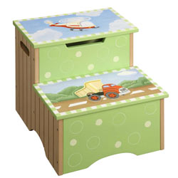 Ride Around Storage Step Stool