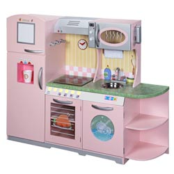 Ultimate Pink Play Kitchen