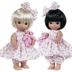 Bear-Foot Blessings Twin Dolls
