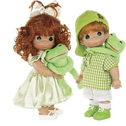 I Toad-ally Love You Twin Dolls
