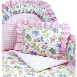 Tea Party Toddler Bedding