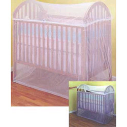Babys Bug Net for Cribs, Cradles and more