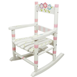 Toddler's Bouquet Rocking Chair
