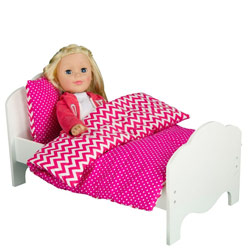 Classic Single Doll Bed