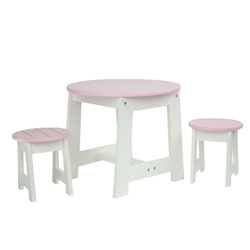 Doll Outdoor Table and Stool Set