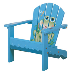 Toddler's Frog Porch Chair