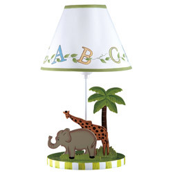 Alphabet Table Lamp