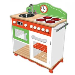 My Little Chef Kitchen with Electric Stove Top