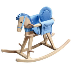 Convertible Natural Rocking Horse