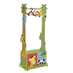 Sunny Safari Dress Up Valet Rack