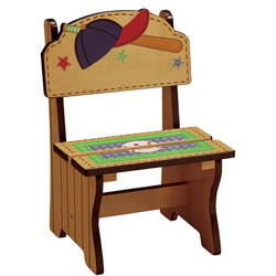 Little Sports Fan Time Out Chair