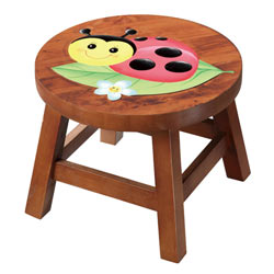 Magic Garden Outdoor Ladybug Stool
