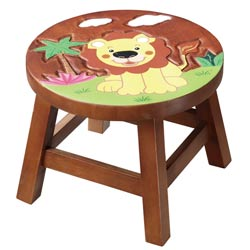 Sunny Safari Outdoor Lion Stool