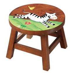 Sunny Safari Outdoor Zebra Stool