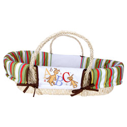 Dr. Seuss ABC Moses Basket