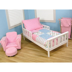 Cupcake Toddler Bedding Set
