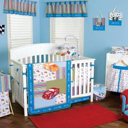 NASCAR� Crib Bedding Set