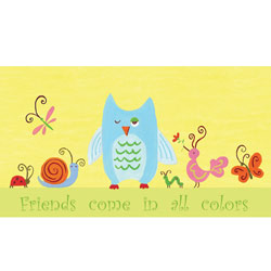 Friends Come in All Colors-Forest Friends