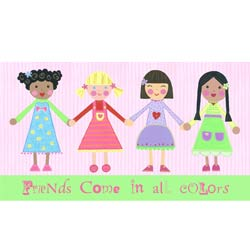 Friends Come in All Colors-Girls