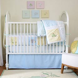 Sweet Pea Crib Bedding Set