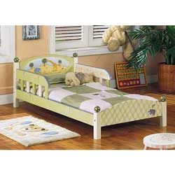 Alphabet Toddler's Bed