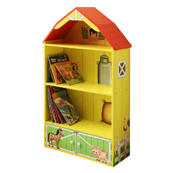 Happy Farm Barn Bookcase