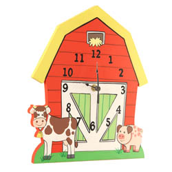 Happy Farm Wall Clock