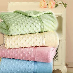 Heavenly Soft Crib Toddler Blankets