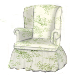 Toile Swivel Glider Rocker