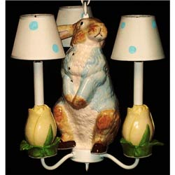 Peter Rabbit Ceiling Light Fixture