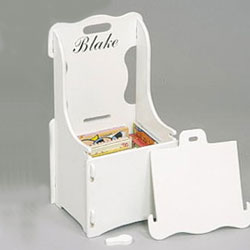 Children's Personalized Treasure Chair