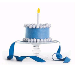 Blue Royal Birthday Hat