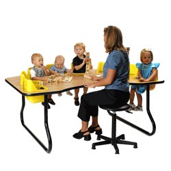 Eight Seat Toddler Table