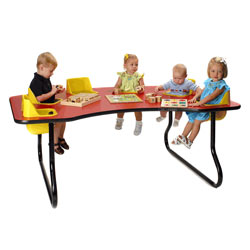 Six Seat Toddler Table