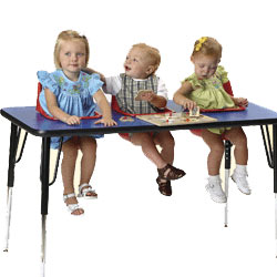 Three Seat Toddler Table