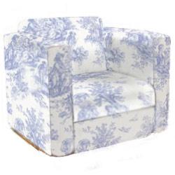 buy popular dfec0 d21ac Toile Kid's Upholstered Rocker