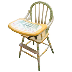 Tulip Garden High Chair