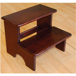Chocolate Step Stool