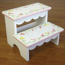 Love Birds Step Stool