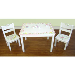 Love Birds Table and Chair Set