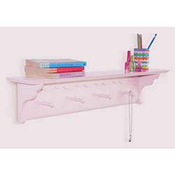 Scalloped Wall Shelf