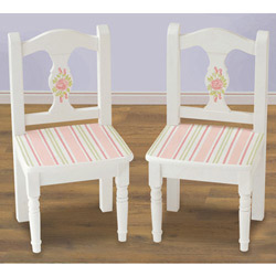 Simply Roses Chairs Set