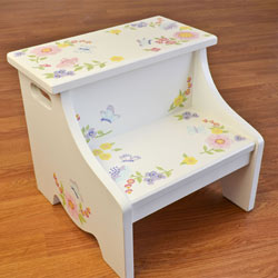 Wildflowers Step Stool