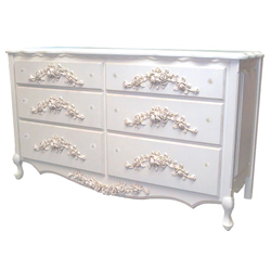 French Rose Dresser