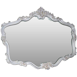 French Rose Mirror