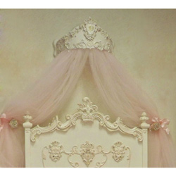 Order Princess Bed Crown Canopy u0026 Wall Crown Canopy For Nursery aBaby.com & Order Princess Bed Crown Canopy u0026 Wall Crown Canopy For Nursery ...